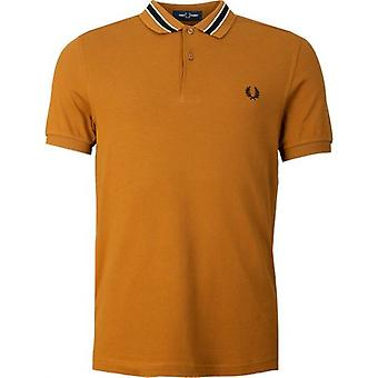 Fred Perry Authentics Tramline Tipped Polo Shirt
