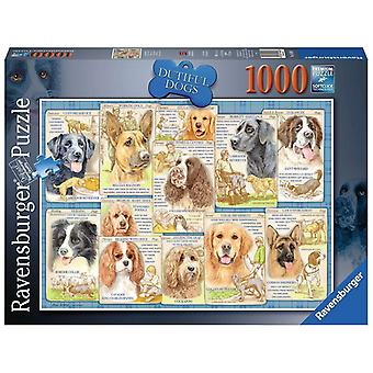 Ravensburger Legpuzzel Plichtsgetrouwe Honden 1000 stukjes