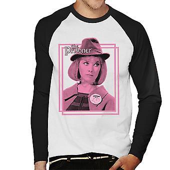 The Prisoner Computer Attendant Its Your Funeral Men's Baseball Long Sleeved T-Shirt