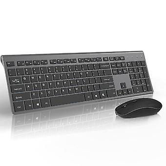 French Wireless Keyboard Mouse Set