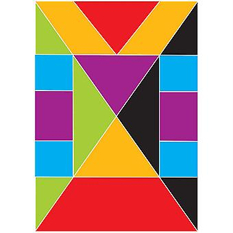 Aimants Math Die-Cut, Tangrams