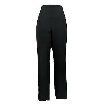 Vrouwen met controle vrouwen 's broek regelmatig slank been zwart A284089