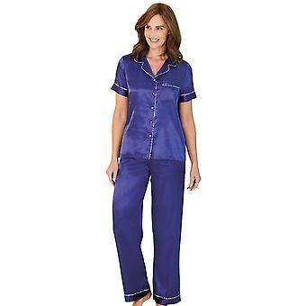 Chums Chums Short Sleeve Satin Pyjama