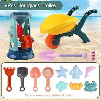 Beach, Play Water Sand Box Set, Table, Bucket, Summer