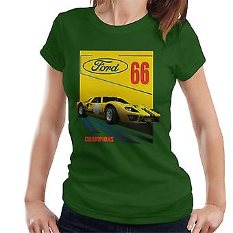 Ford 66 Champions Women&s T-Shirt