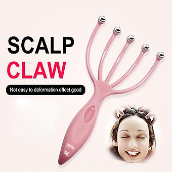 5 Finger Magnetic Ball Hair Massager Comb Head Physician Scalp Massage Pressure Relaxation SPA Scalp Neck Stress Scalp Brush