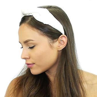 Floral Silk Top Knot Headband