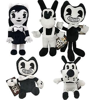5pcs Bandy And Ink Machine Thriller Game Stuffed Plush Toy