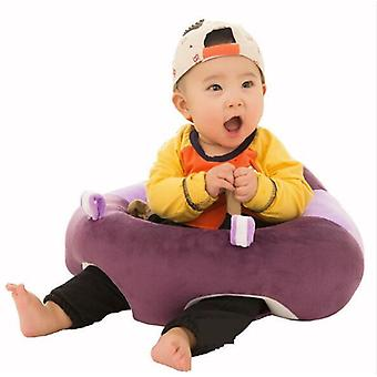 Bärbar mjuk soffa golv sits söt kudde plysch barn leksak