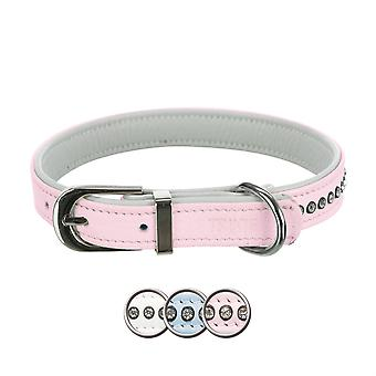 Trixie Collar Active Comfort con Piedrecitas Rosa