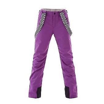 Traje de esquí femenino invierno chaquetas de snowboard cálido y pantalones set