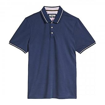 Ted Baker Gelpen Soft Touch Mid Blauw Polo Shirt