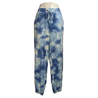 All Worthy Hunter McGrady Women's Pants Plus Tie Dye Jogger Blue A387048