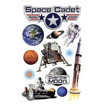 Paper House Productions - 3D Stickers - Space Cadet