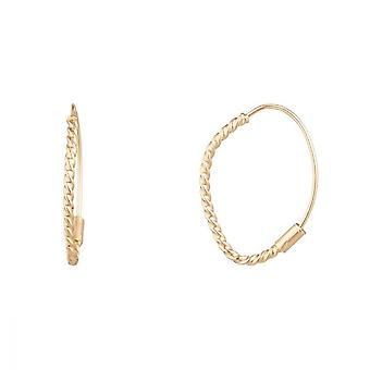 Ohrringe Gold Gelbgold 375/1000