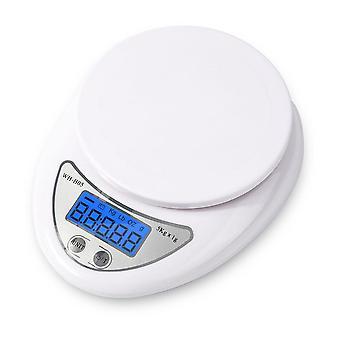 5kg / 1g Lcd-digitaalinen asteikko keittiön ruoan kypsennysvaa'alle
