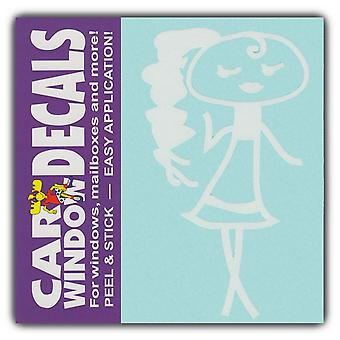 "Decal, Window Decal, Teen, 4"" Tall"