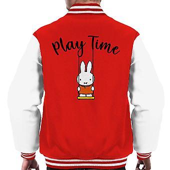 Miffy Play Time Men's Varsity Jacket