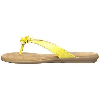 Serpiente de bifurcación negro Aerosoles Womens Casual de dedo del pie abierto