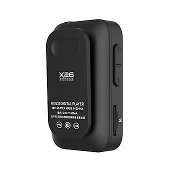 Sport Bluetooth MP3-Musikplayer (Schwarz)