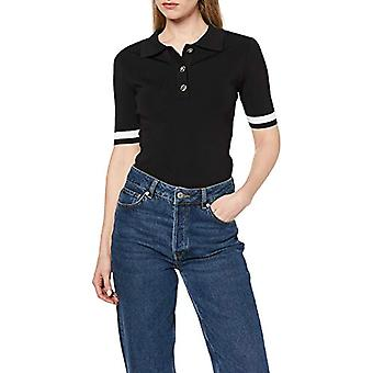 Morgan 201-momeo.n T-Shirt, Multicolor (Noir/Vanille Noir/Vanille), Medium (One Size: Tm) Woman