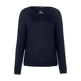 Street One 314533 T-Shirt, Deep Blue, 42 Woman