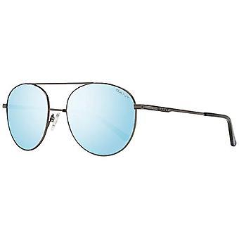 Gant Eyewear GA7106 Solglasögon, Matt Gunmetal/Blu Mirror, 54 Herrkläder