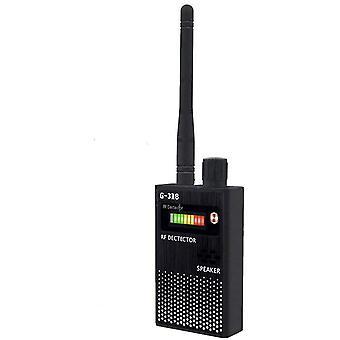 Anti Spion SignalDetektor GPS SignalDetektor Spion Bug Kamera Trådløs Detektor Spiondetektor Enhet GPS RF Skanner Finder GSM Enhet Finder