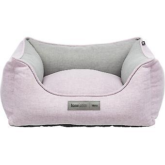 Trixie Lona seng Rektangulær grå og rosa (Hunder , Katter , Sengetøy , Sengetøy , Senger , Senger)