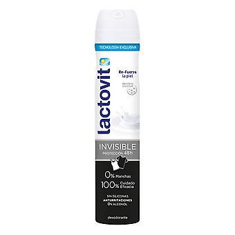 Spray Deodorant Invisible Antimanchas Lactovit (200 ml)