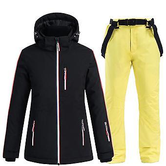 Women Windproof, Waterproof Jacket Snow Pants