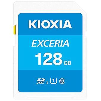 Kioxia 128GB Exceria U1 Class 10 SD card