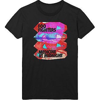 Foo Fighters - Medicine At Midnight Unisex XX-Large T-paita - Musta