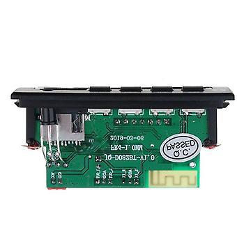 Bluetooth Mp3 Player, Music Wireless Receiver, Audio Decoder Module, Tf Fm