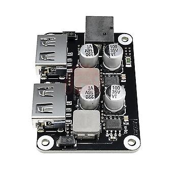 новый двойной 2 двойной USB быстрое зарядное устройство buck модуль вход 6v 30v один порт sm19855