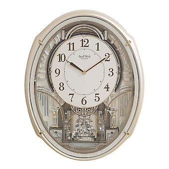 Rhythm Magic Motion weiße Uhr - Kristalle von Swarovski