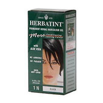 Herbatint Herbatint Permanent Black (1n), 4 Oz