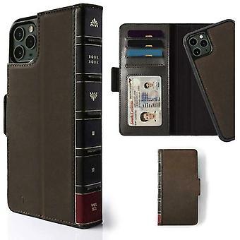 Douăsprezece case South BookBook pentru iPhone 11 Pro Max & Xs Max Brown - 12-1930