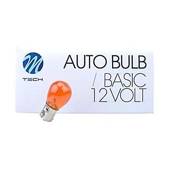 Fordonslampa MTECZ36 M-Tech PY21W 21W 12V (10 st)