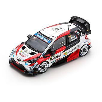 Toyota Yaris WRC Sebastien Ogier-Julien Ingrassia (WRC vinner Rally Monza 2020)