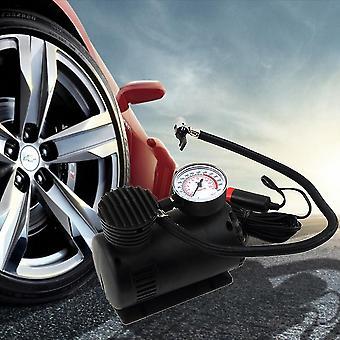Svart bärbar 12v autobil elektrisk luftkompressor däck infaltor pump 300 Psi