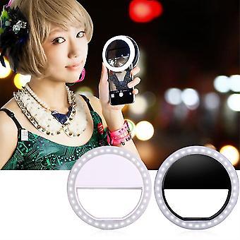 Clipe de telefone celular Selfie Led Auto Flash Selfie Lanterna Lanterna Lanterna