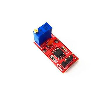 Ne555 pulse frequency duty cycle adjustable module 10khz -200khz square wave signal generator for arduino diy kit