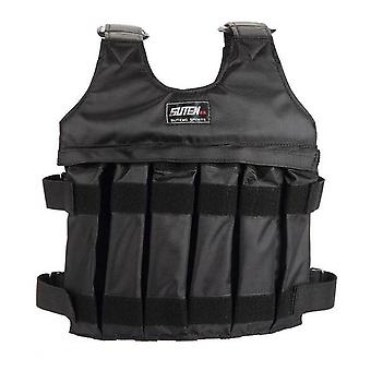 Adjustable 50kg Weighted Vest Running Exercise Strength Resistance Training