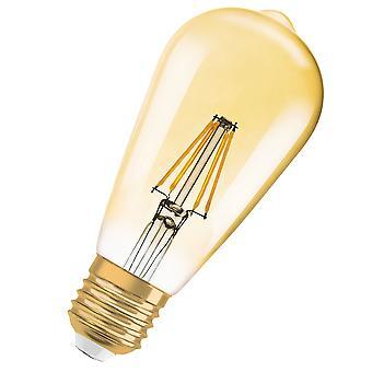 Osram LV962095 1906 LED 37W Vintage Filament Gold Glass Edison ES Bulb