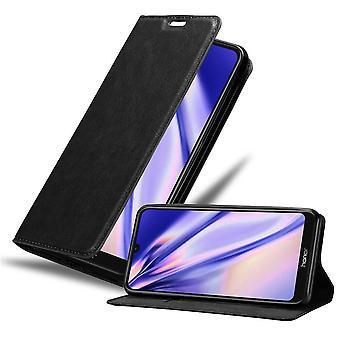 Caso de Honor 8A 2020 Caixa de telefone dobrável - Capa - com função de suporte e compartimento de cartão