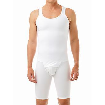 Underworks Men's Compression Bodysuit - No Zipper