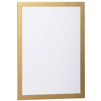 Durraframe Information Framework (a4, Sticker With Magnetic Closure) 2 Parts, Gold