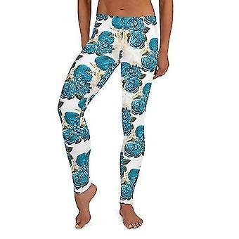 Hosiery floral athleisure leggings