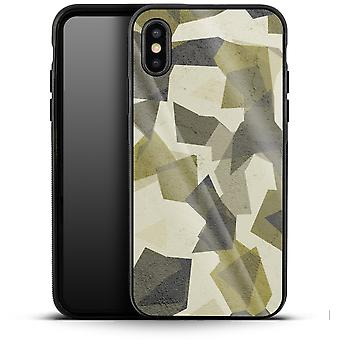 Geometric Camo Green by caseable Designs Luxury Phone Case Apple iPhone XS Max